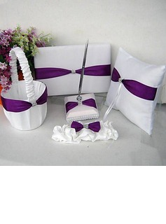 Garden Themed Wedding Collection Set With Lilac Sash (5 Pieces)(100017980)