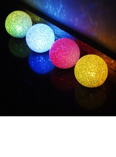 Ball LED Lights (Set of 4 in Assorted Colors)