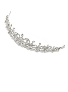 Simple Rhinestone/Alloy Tiaras