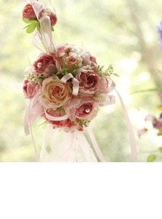 Artificial flower ball for home decoration