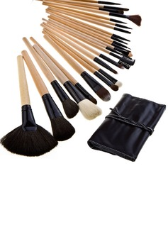 Pure Wood Professional Makeup Brushes (24 Pcs)
