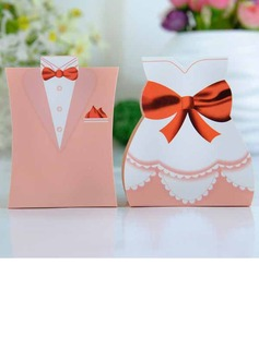 Tuxedo & Gown Favor Boxes (Set of 6 Pairs)