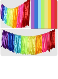 Colorful Satin Ribbon Macrame