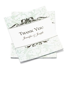 Personalized Formal Style Thank You Cards