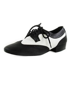 Real Leather Flats Modern Ballroom Dance Shoes (053012954)