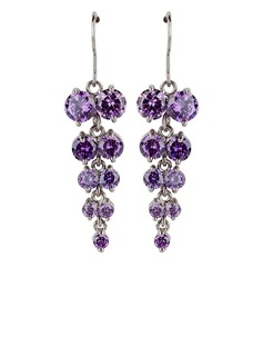 Fashional Zircon/Platinum Plated Earrings