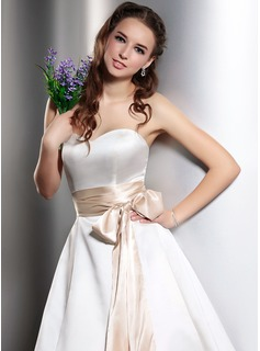 Women Charmeuse Tea-Length Sash
