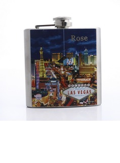 Personalized Las-Vegas Stainless Steel 160ml(6-oz) Flasks