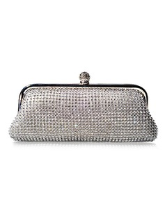 Shining Rhinestone With Metal Clutches