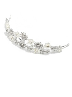 Beautiful Alloy/Imitation Pearls Tiaras