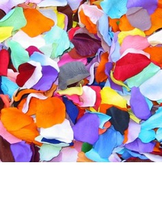 Multi-color Rose Silk Petals (set of 12 packs)