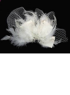 Gorgeous Tulle With Rhinestones Wedding Bridal Headpiece   (042025230)