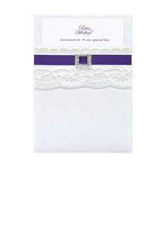 Classic Style Wrap & Pocket Invitation Cards (set of 50) (118040276)
