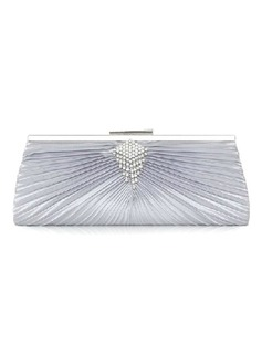 Fashional Satin With Rhinestone Clutches