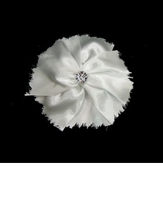 Gorgeous Satin With Rhinestones Wedding Bridal Headpiece