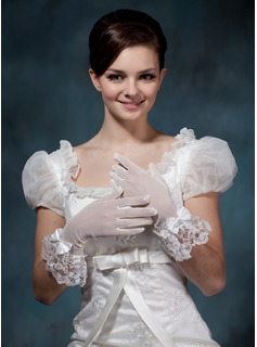 Spandex Wrist Length Party/Fashion Gloves/Bridal Gloves
