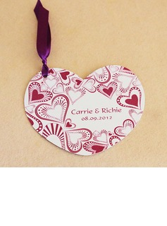 Personalized Heart Style Invitation Cards (Set of 50)