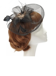 Gorgeous Feather/Net Fascinators