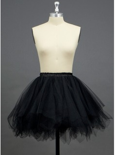 Women Tulle Netting/Polyester Short-Length Petticoats