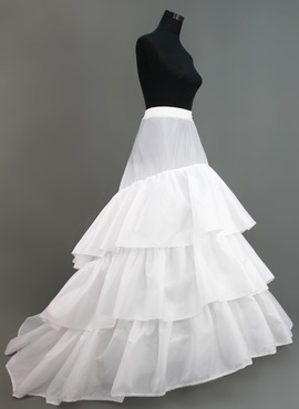 Women Nylon/Tulle Netting Floor-length 1 Tiers Petticoats (037005375)
