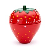 Strawberry Shaped Hard plastic Timer