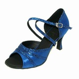 Satin Sparkling Glitter Sandals Latin Dance Shoes