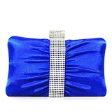 Fashional Nylon With Rhinestone Clutches