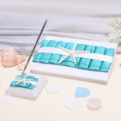 """Welcome to our wedding"" Sash Guestbook & Pen Set"