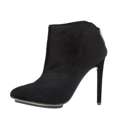 Women's Stiletto Heel Closed Toe Ankle Boots shoes