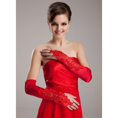 Spandex Opera Length Bridal Gloves (014020470)