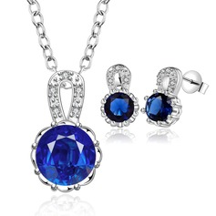 Charming Alloy/Silver Plated With Crystal Ladies' Jewelry Sets