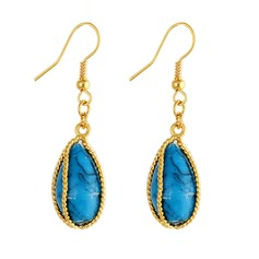 Unique Imitation Turquoise Ladies' Fashion Earrings