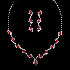 Strand Rhinestones Ladies' Jewelry Sets