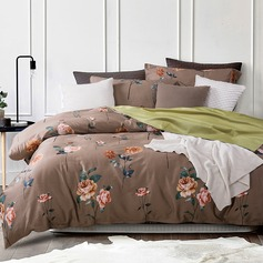 Modern/Contemporary Cotton Comforters (4pcs :1 Duvet Cover 1 Flat Sheet 2 Shams)
