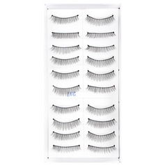 Manual Looking Curved Lashes 217# - 10 Pairs Per Box