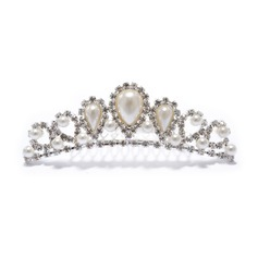Beautiful Rhinestone Pearl Tiaras