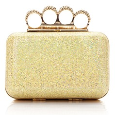 Shining Sparkling Glitter With Rhinestone Clutches