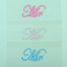 Pretty Mr Rhinestone Shoe Sticker