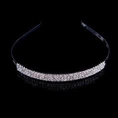 Lovely Cubic Zirconia Alloy Tiaras/Headpiece