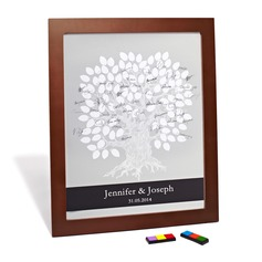 Personalized design Signature Framed Canvas