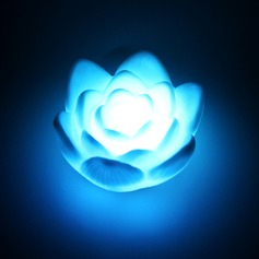 Color changing Lotus Vinyl LED Lights  (More Colors)