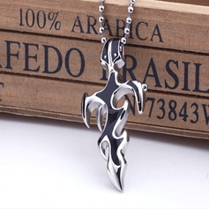 Cross Titanium Steel Unisex DIY Jewelry