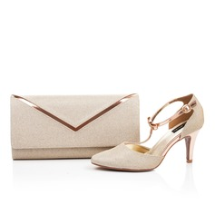 Charming Faux Leather Shoes & Matching Bags