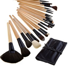 Pure Wood Professional Makeup Brushes (24 Pcs ) (046024095)