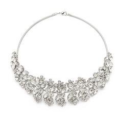 Beautiful Alloy With Rhinestone Ladies' Necklaces