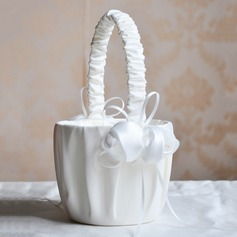 Classic Flower Basket in Satin (102090824)