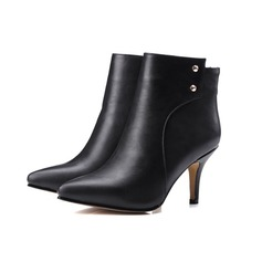 Women's Cloth Stiletto Heel Platform Ankle Boots shoes