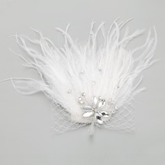 Beautiful Rhinestone/Feather/Tulle Combs & Barrettes