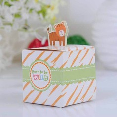 Lovely Tiger Cubic Favor Boxes