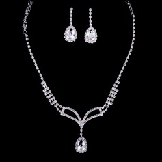 Romantic Rhinestones/Crystal Ladies' Jewelry Sets